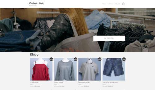 Fashion Look - eshop s oblečením