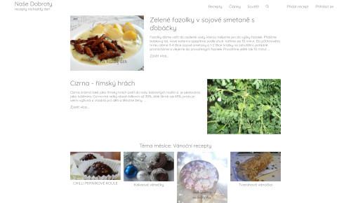 Naše Dobroty - recepty na každý den